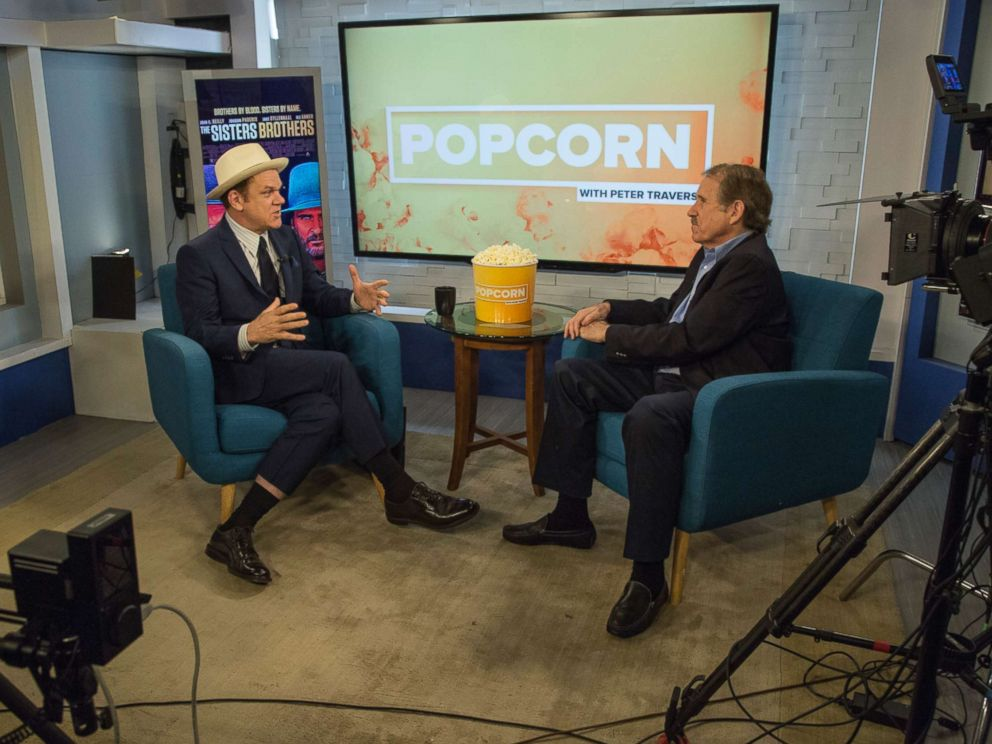PHOTO: John C. Reilly appears on Popcorn with Peter Travers at ABC News studios, Sept. 13, 2018, in New York City.