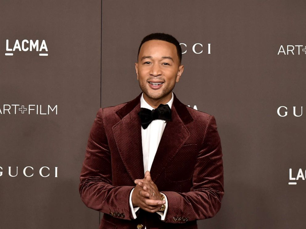 PHOTO: John Legend attends the 2019 LACMA Art + Film Gala at LACMA, Nov. 2, 2019, in Los Angeles.