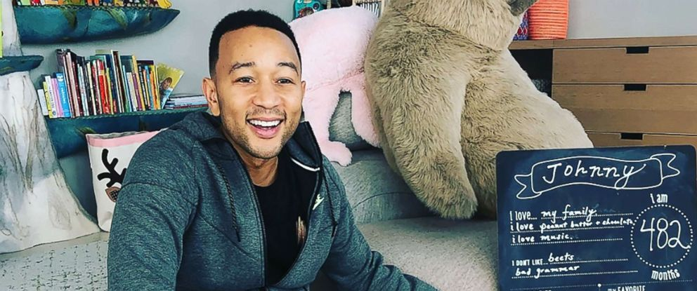 PHOTO: Chrissy Teigen posted this photo of John Legend on her Instagram profile.