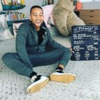 Chrissy Teigen posted this photo of John Legend on her Instagram profile.