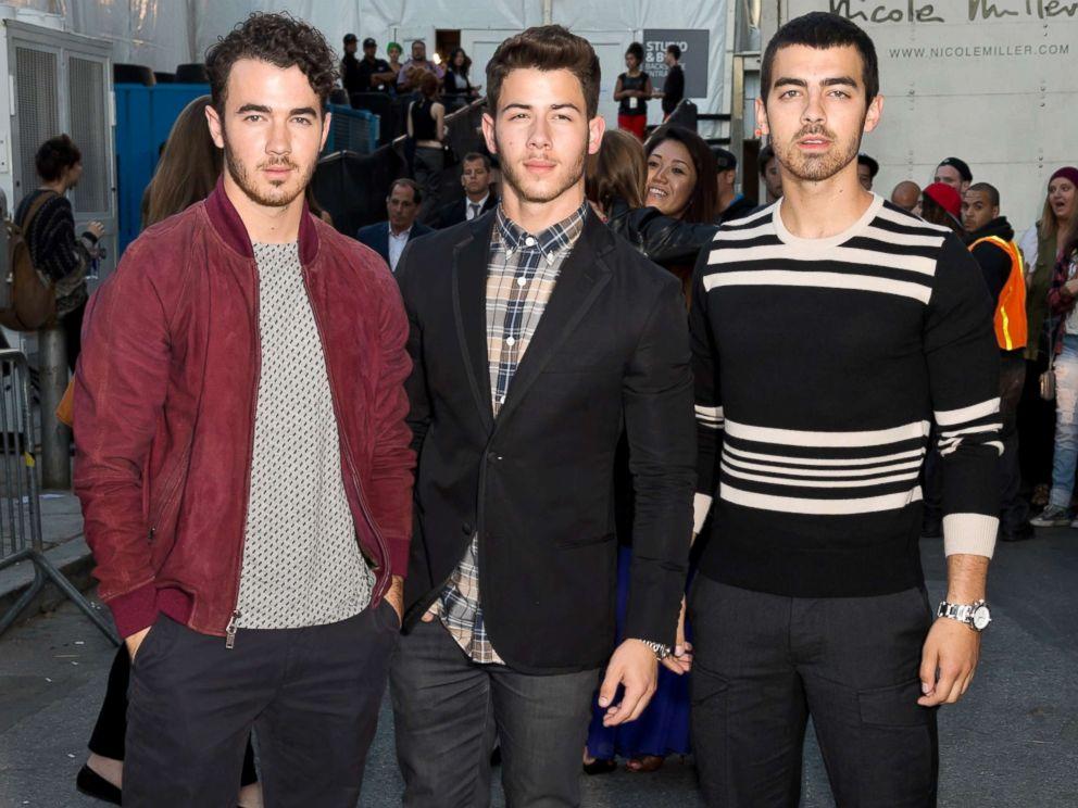 PHOTO: From left, Kevin Jonas, Nick Jonas and Joe Jonas of Jonas Brothers attend an event on Sept. 6, 2013, in New York City.