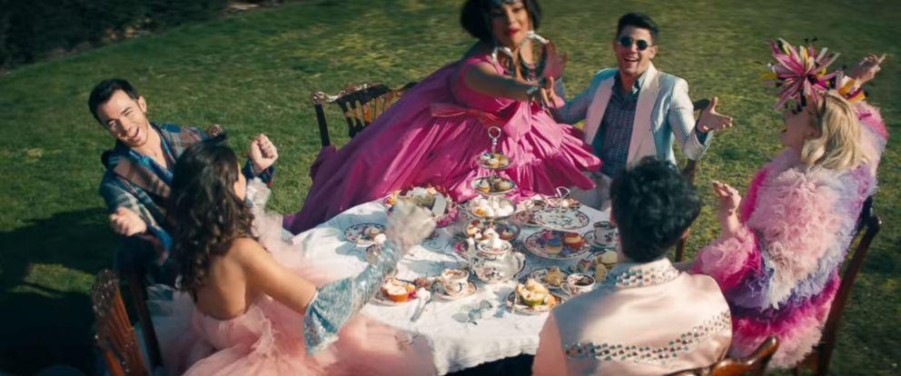 "PHOTO: The Jonas Brothers video from ""Sucker."""