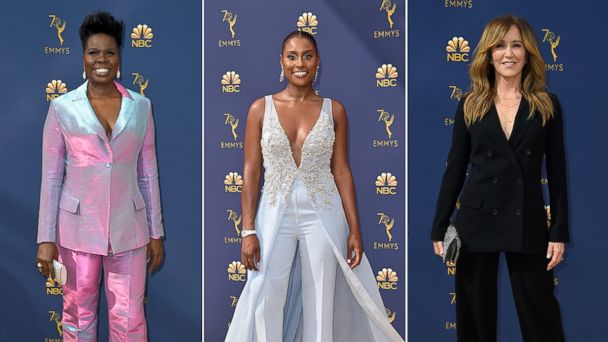 Pantsuits rule the Emmys gold carpet: 6 ways to make the look work for you