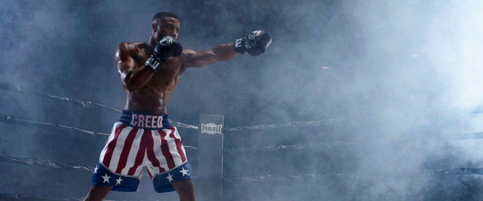"""PHOTO: Michael B. Jordan in a scene from """"Creed II."""""""