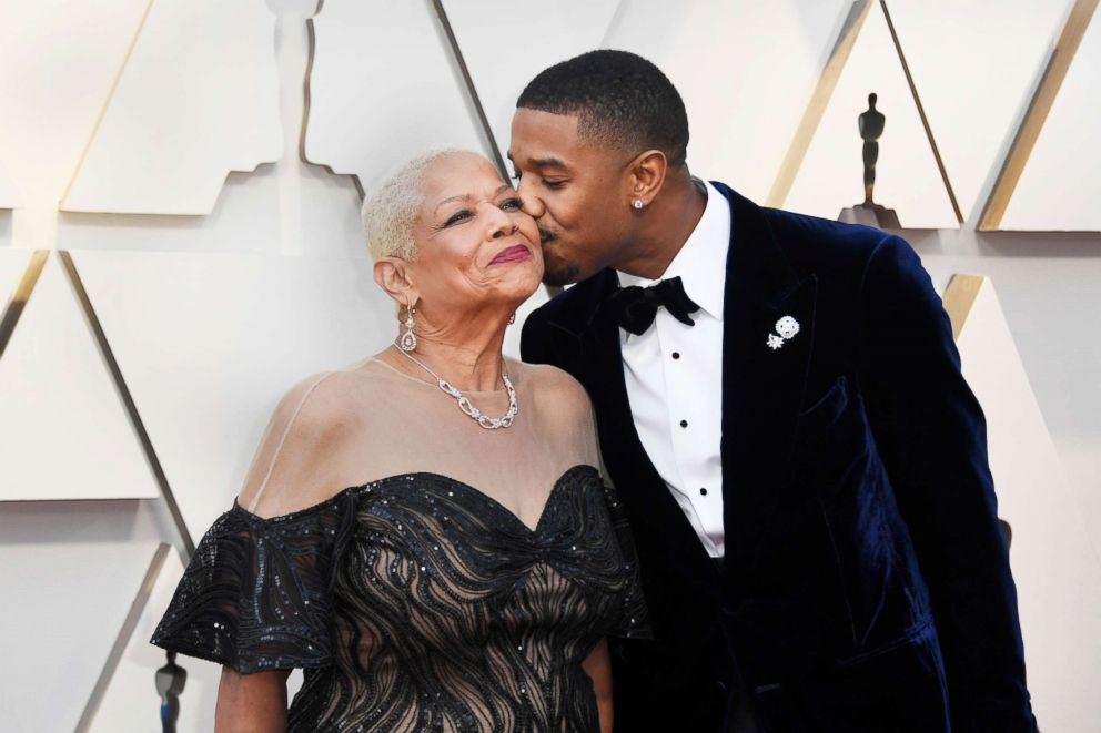 PHOTO: Donna Jordan and Michael B. Jordan attend the 91st Annual Academy Awards, Feb. 24, 2019 in Hollywood, Calif.
