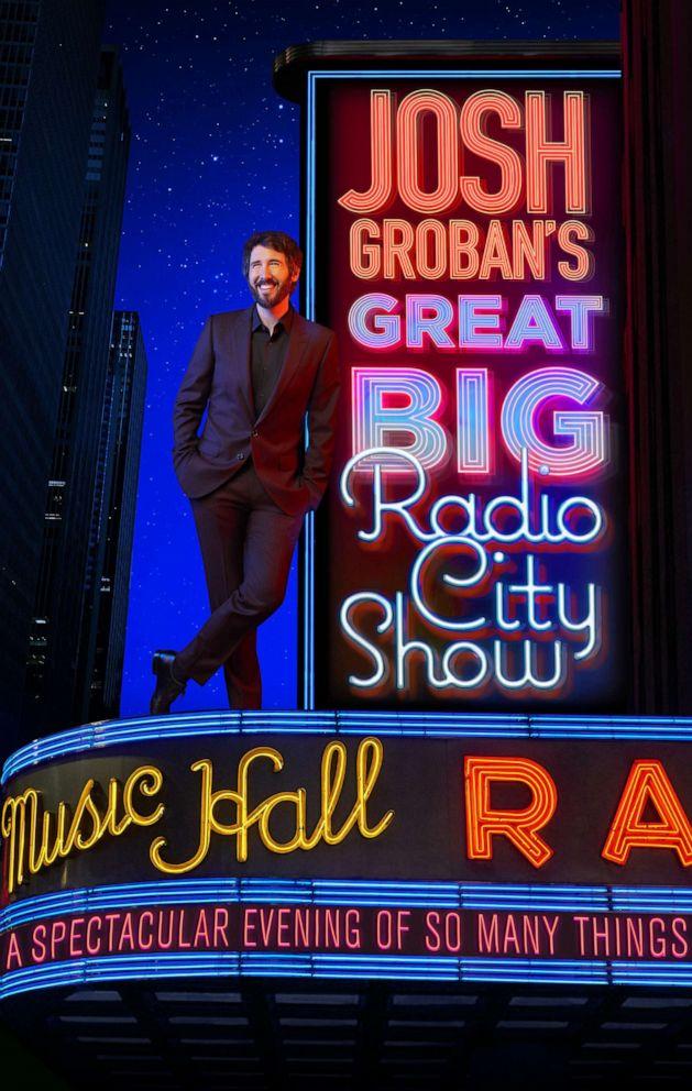 Josh Groban Tour 2020.Josh Groban Announces Radio City Music Hall Residency Abc News