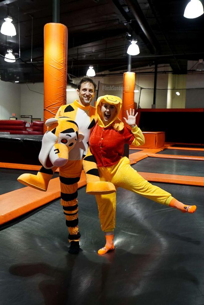 751cfa994db6 See this amputee s amazing Halloween costume as Tigger - ABC News