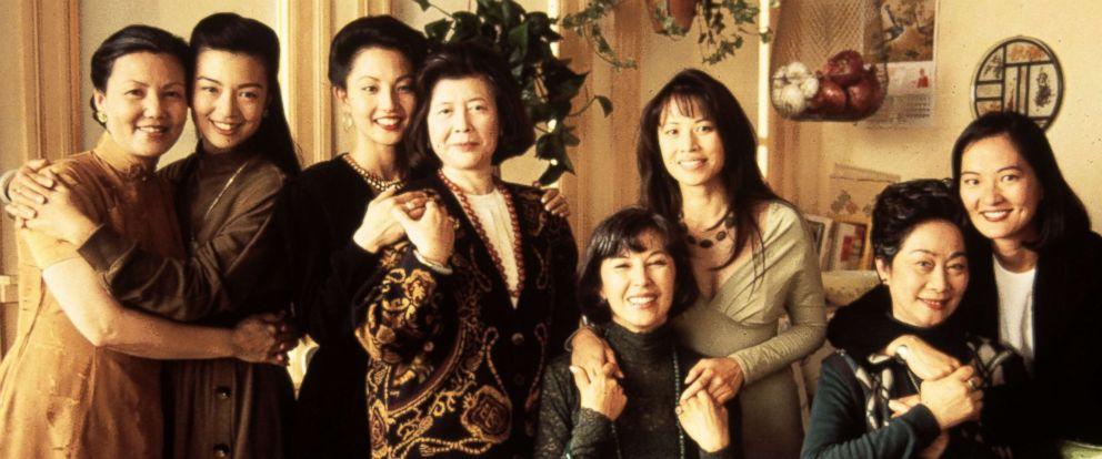 "PHOTO: Kieu Chinh, Ming-Na, Tamlyn Tomita, Tsai Chin, France Nuyen, Lauren Tom, Lisa Lu, Rosalind Chao from the movie, ""The Joy Luck Club,"" from 1993."