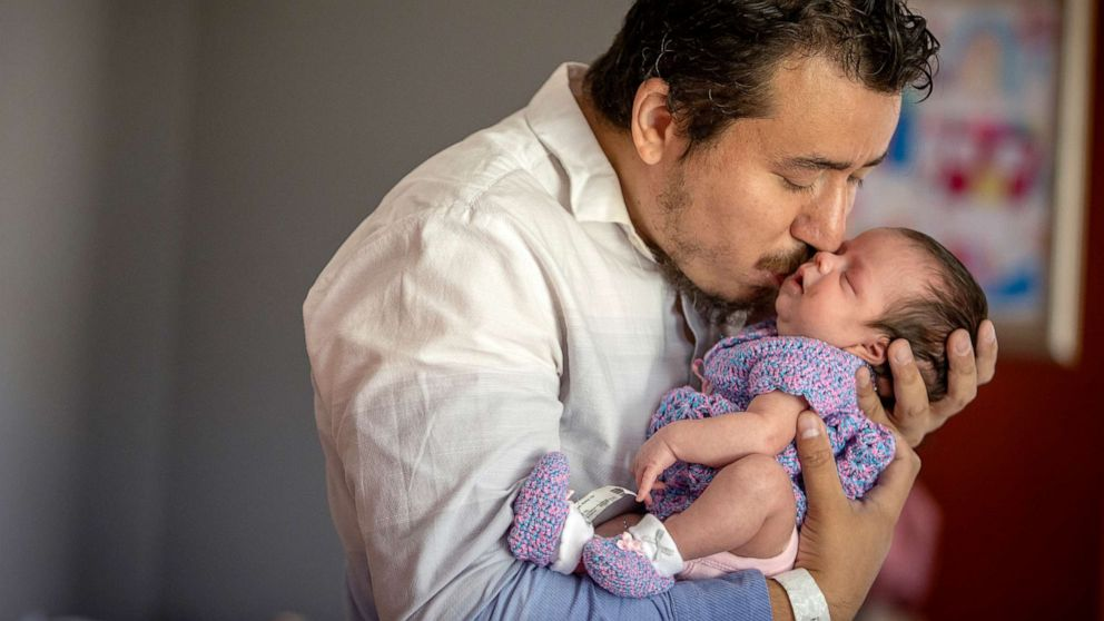 Juan Duran-Gutierrez is now a single father raising three young children, including a newborn, after his wife, Aurora Chacon-Esparza, died of COVID-19 during the global coronavirus pandemic.