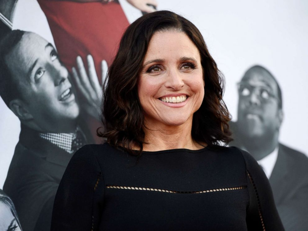 PHOTO: In this May 25, 2017, file photo, Julia Louis-Dreyfus, a cast member in the HBO series Veep, poses at an Emmy For Your Consideration event for the show at the Television Academy in Los Angeles.