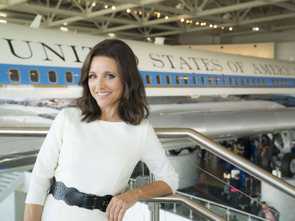 PHOTO: Julia Louis-Dreyfus is pictured on season six of Veep.