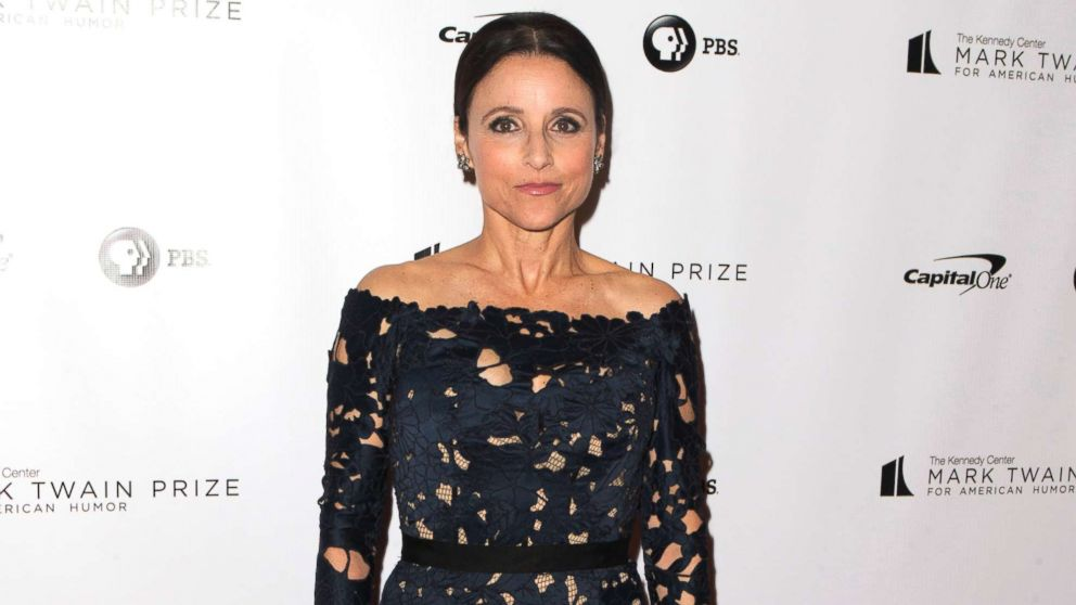 Julia Louis Dreyfus Accepts Mark Twain Prize For American Humor At The Kennedy Center