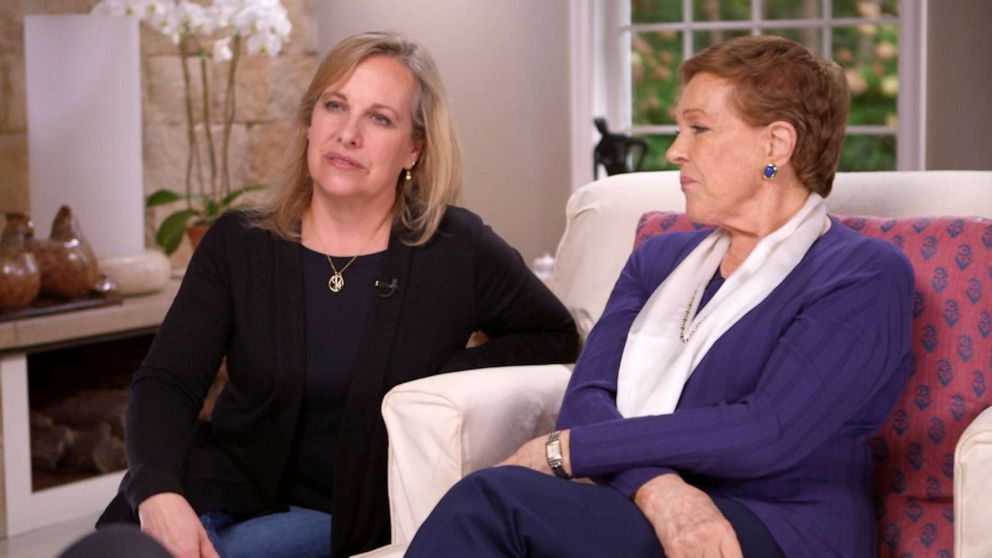 PHOTO: Julie Andrews with her daughter Emma Walton Hamilton, left, sit down for an exclusive interview with Diane Sawyer.