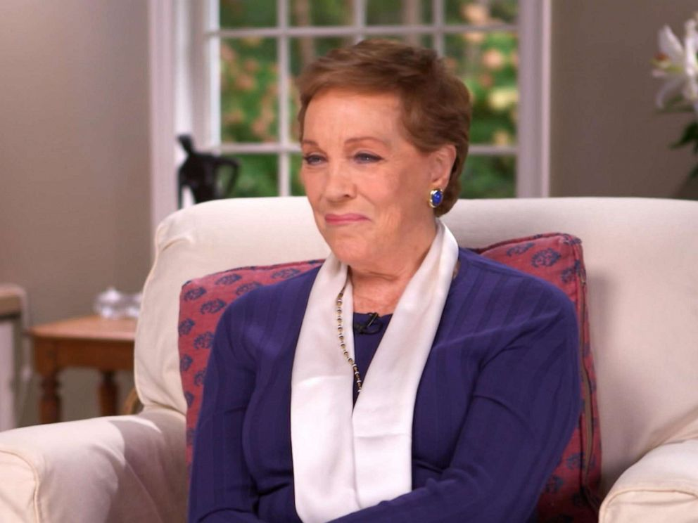PHOTO: Julie Andrews sits down for an exclusive interview with Diane Sawyer.