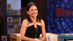 "PHOTO: Julia Louis-Dreyfus is seen on ""Jimmy Kimmel Live!"""