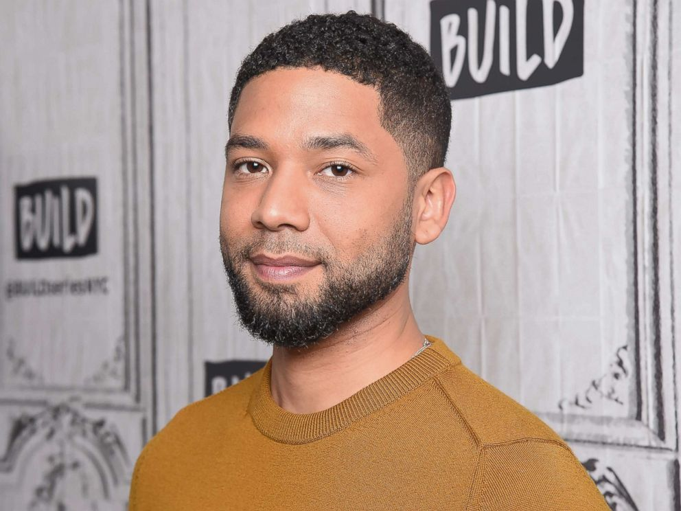 PHOTO: Actor Jussie Smollett visits Build Studio on Nov. 14, 2018 in New York.