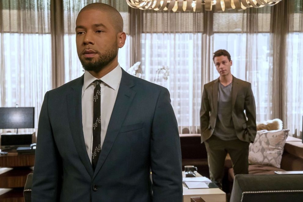 PHOTO: Jussie Smollett and A.Z. Kelsey appear in the Pride episode of Empire, Oct. 10, 2018.