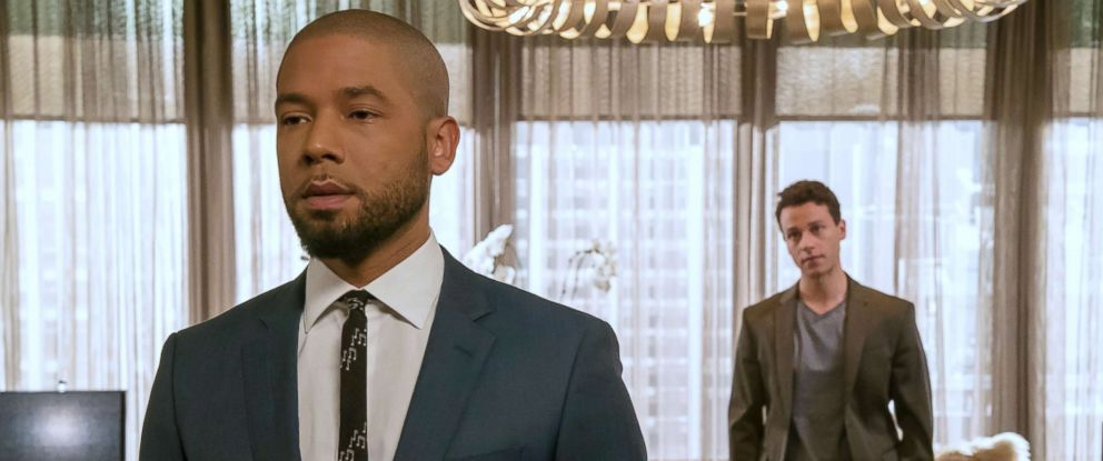 "PHOTO: Jussie Smollett and A.Z. Kelsey appear in the ""Pride"" episode of ""Empire,"" Oct. 10, 2018."