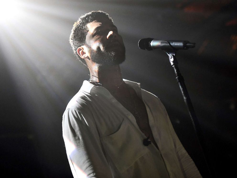 PHOTO: Singer Jussie Smollett performs onstage at Troubadour on Feb. 2, 2019 in West Hollywood, Calif.