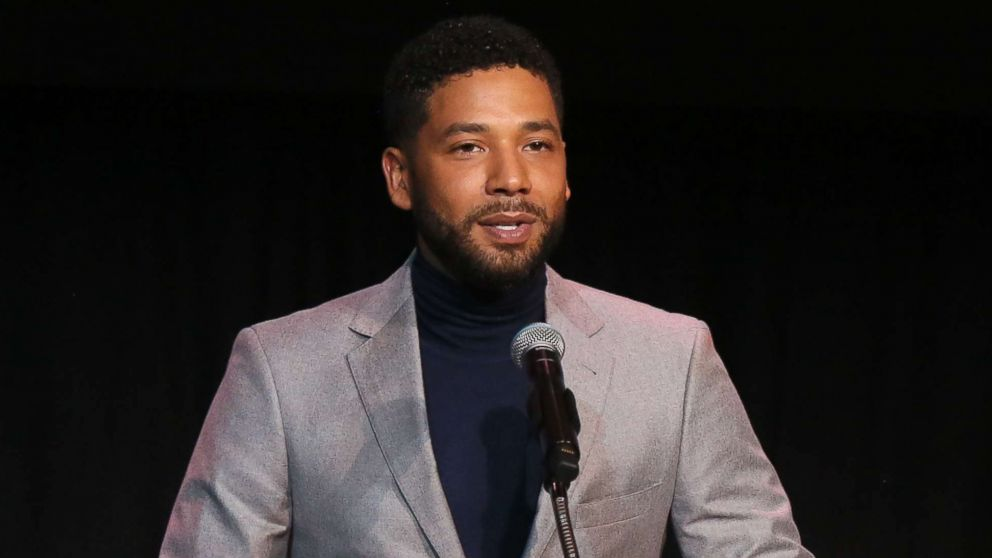 Jussie Smollett speaks at the Children's Defense Fund California's 28th Annual Beat The Odds Awards on Dec. 6, 2018 in Los Angeles.