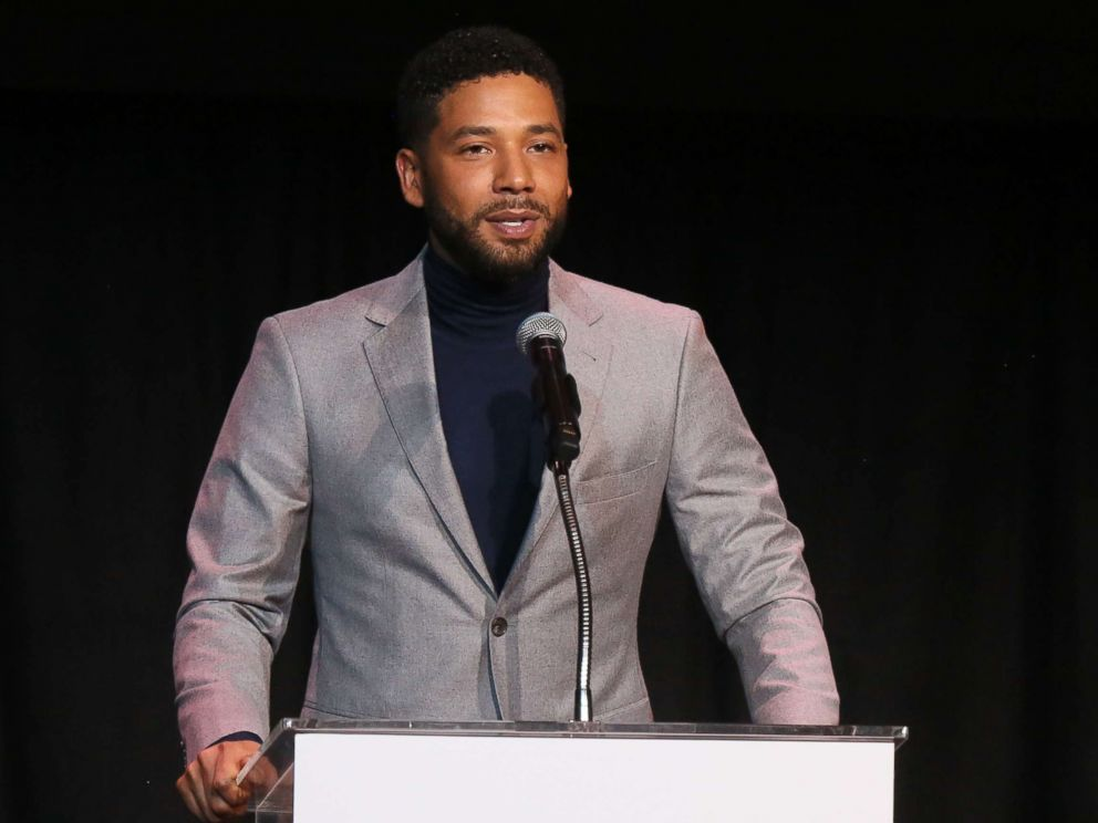 PHOTO: Jussie Smollett speaks at the Childrens Defense Fund Californias 28th Annual Beat The Odds Awards on Dec. 6, 2018 in Los Angeles.