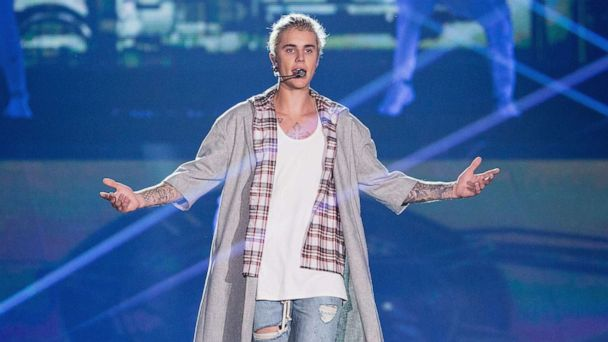 Justin Bieber shares video of himself singing in church