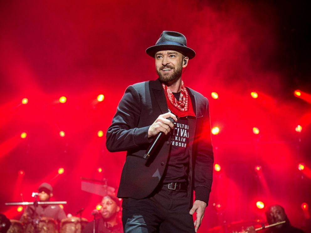 PHOTO: In this Sept. 23, 2017 file photo, Justin Timberlake performs at the Pilgrimage Music and Cultural Festival in Franklin, Tenn.