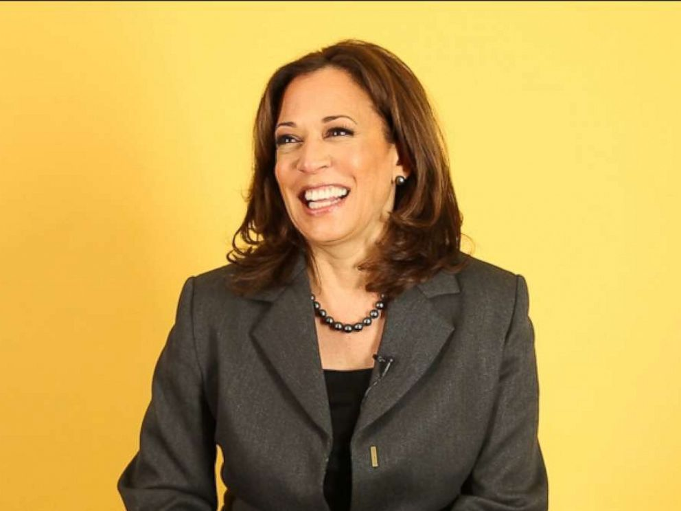 PHOTO: Sen. Kamala Harris, D-Calif., shares her advice for young women and more in an interview with Good Morning America.