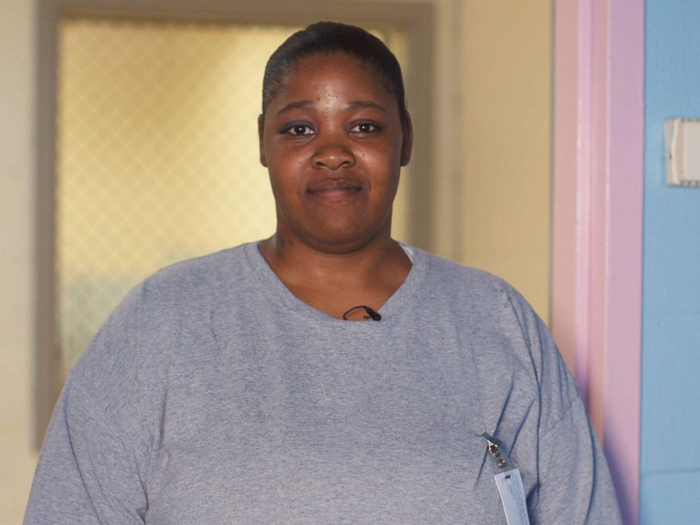PHOTO: Kamisha Loftin, an inmate at Maryland Correctional Institution for Women in Jessup, Md., poses for a photo in September 2018.