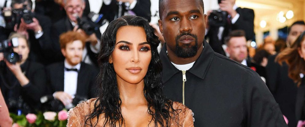 PHOTO: Kim Kardashian West and Kanye West attend the 2019 Met Gala Celebrating Camp: Notes on Fashion at the Metropolitan Museum of Art, May 6, 2019, in New York City.