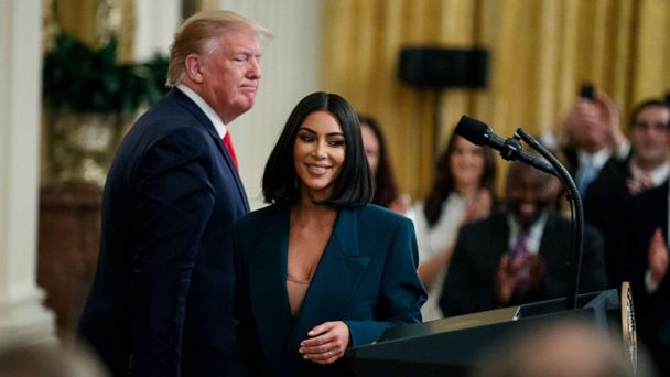 Kim Kardashian shares behind the scenes look of White House visit, calls on other companies to help initiative