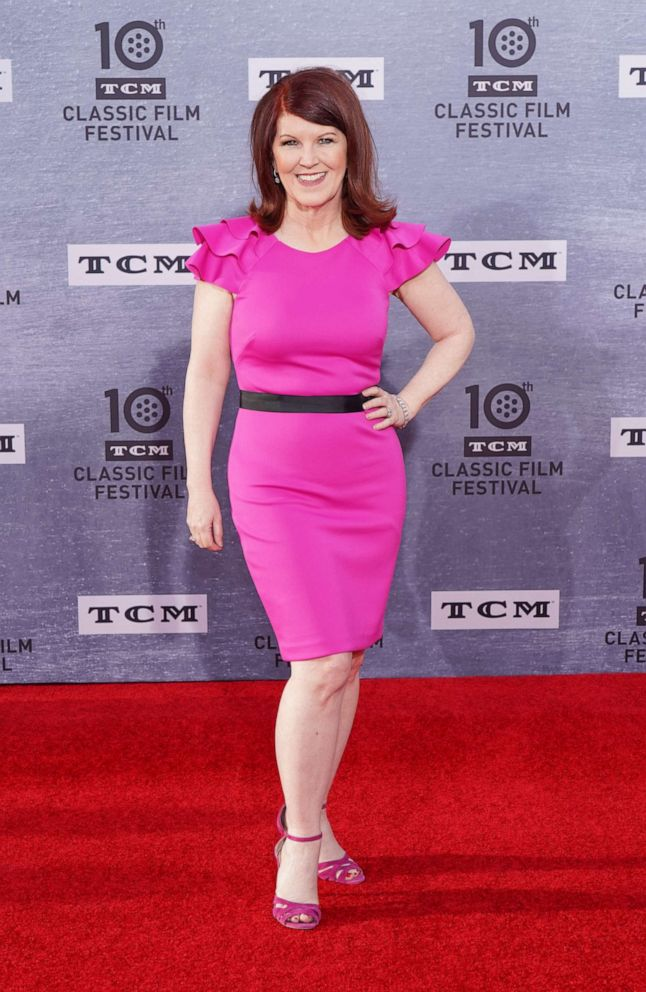 PHOTO: Kate Flannery attends the 2019 TCM Classic Film Festival Opening Night Gala and 30th Anniversary Screening of When Harry Met Sally at TCL Chinese Theatre on April 11, 2019 in Hollywood, California.