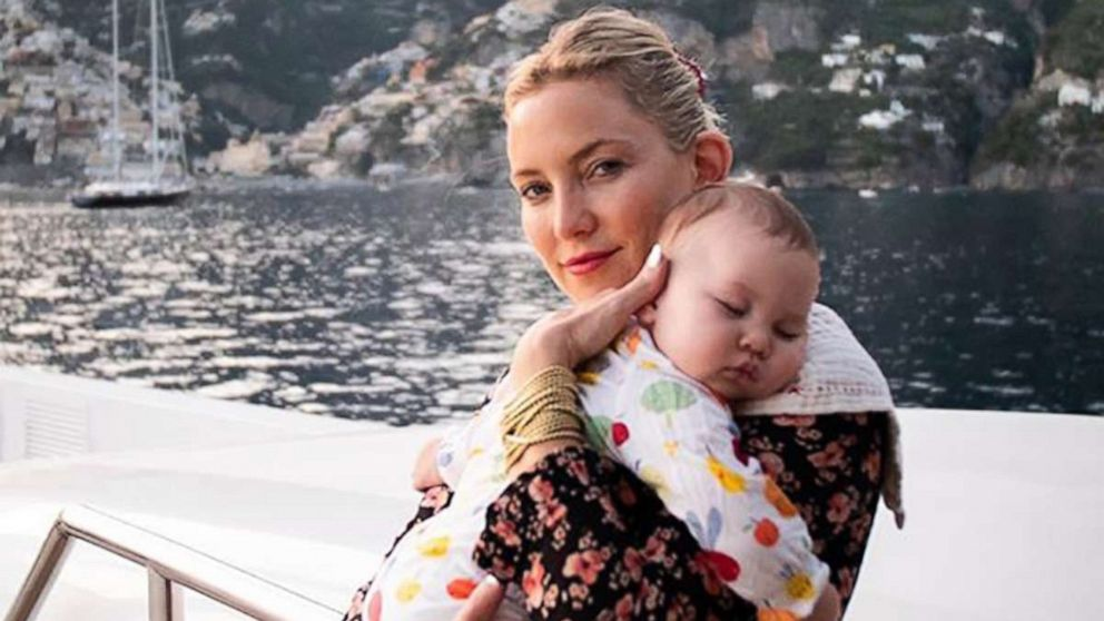 Kate Hudson shares photos from family vacation to Italy | GMA