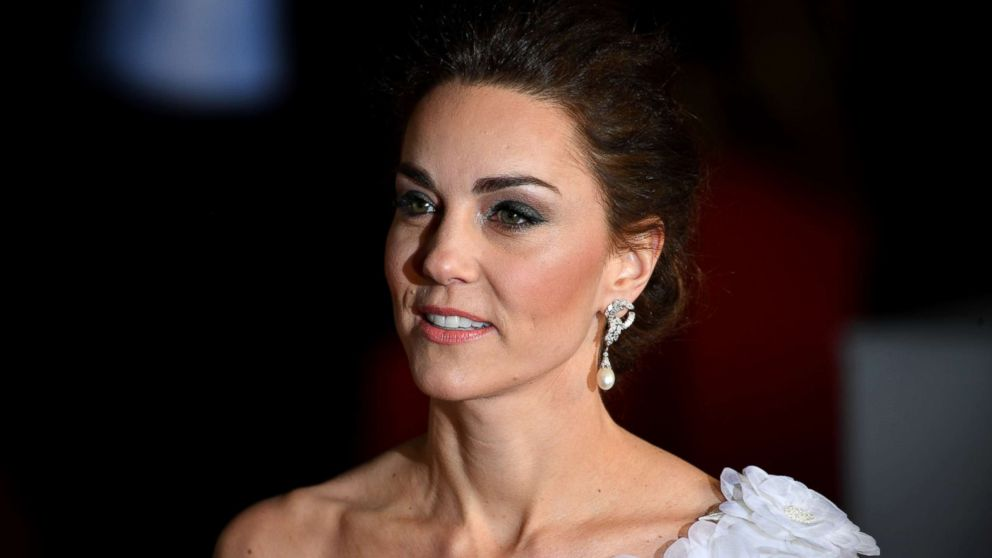 Catherine, Duchess of Cambridge attends the EE British Academy Film Awards at Royal Albert Hall on Feb. 10, 2019 in London.