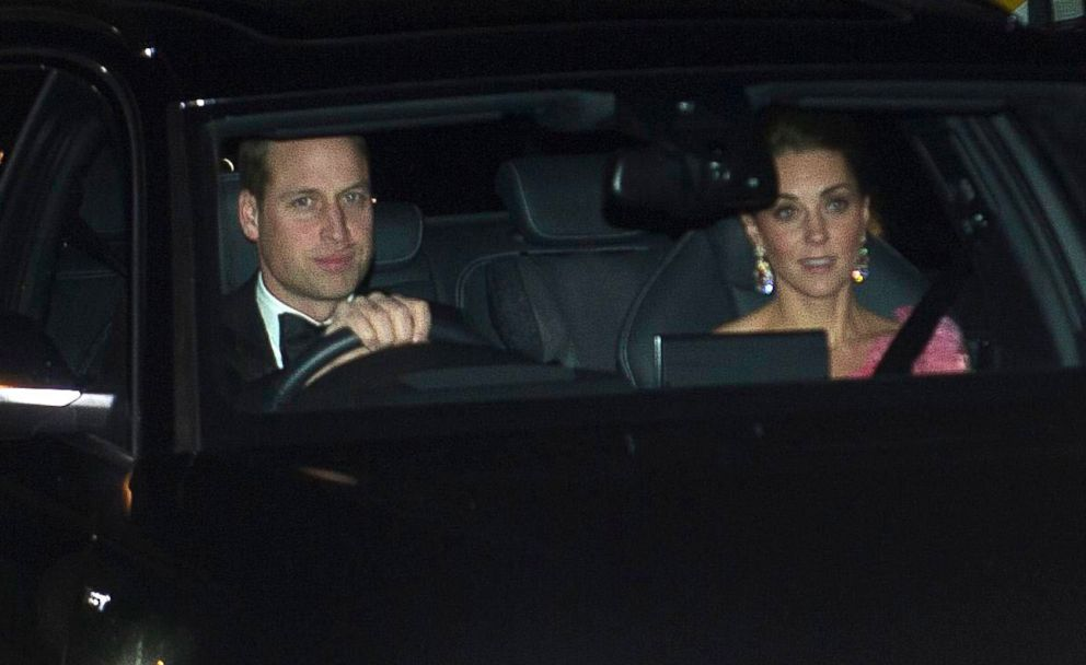 PHOTO: Prince William and Catherine, Duchess of Cambridge, arrive for 70th birthday party for Prince Charles at Buckingham Palace, London, Nov. 14, 2018.