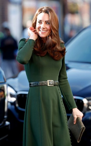 Kate Middleton Wore A Green Dress From Beulah London A