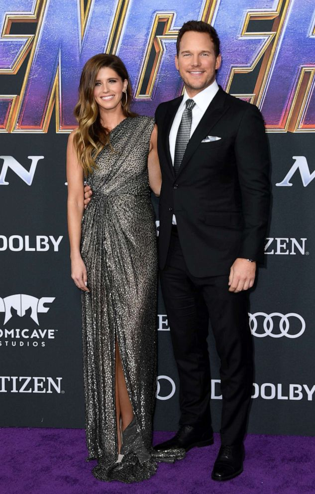 PHOTO:Chris Pratt and Katherine Schwarzenegger arrive for the World premiere of Marvel Studios Avengers: Endgame at the Los Angeles Convention Center on April 22, 2019 in Los Angeles.