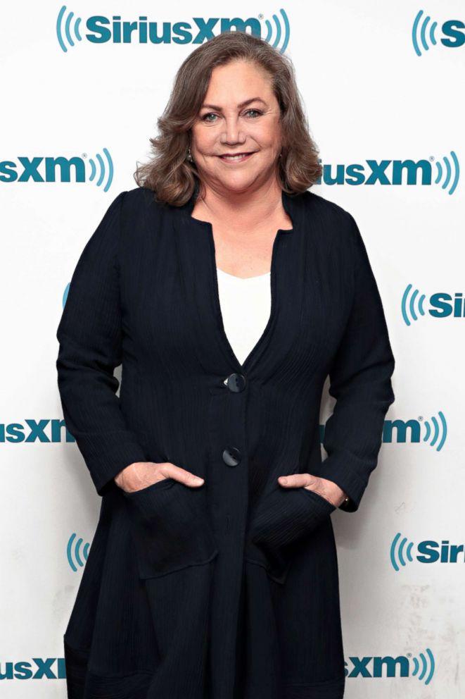 PHOTO: Kathleen Turner visits the SiriusXM Studios, May 23, 2018, in New York City.