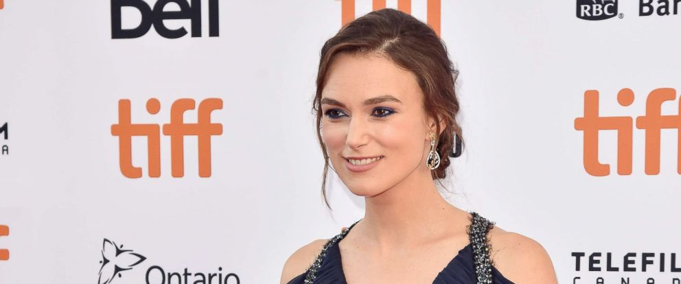"PHOTO: Keira Knightley attends the ""Colette"" premiere at the Toronto International Film Festival, in Canada, Sept. 11, 2018."