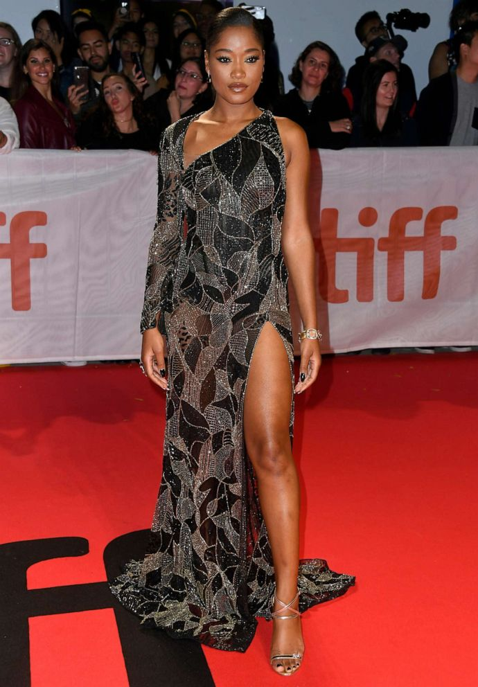 PHOTO: Keke Palmer attends the Hustlers premiere during the 2019 Toronto International Film Festival at Roy Thomson Hall on Sept. 7, 2019 in Toronto.