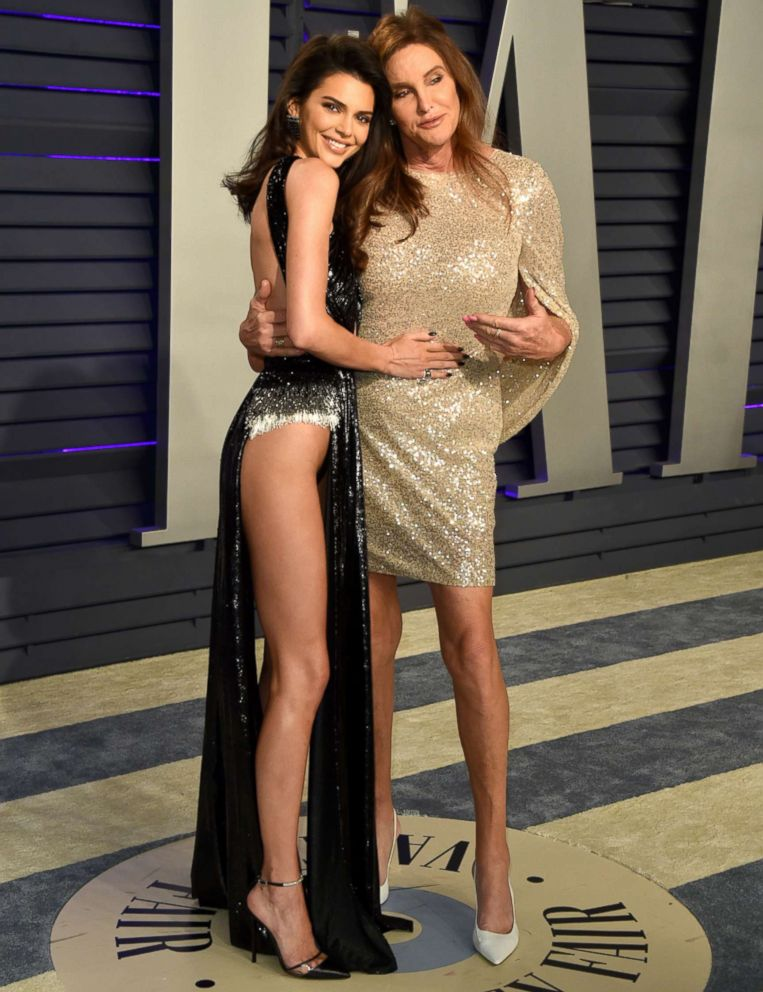 PHOTO: Kendall Jenner and Caitlyn Jenner attend the 2019 Vanity Fair Oscar Party on Feb. 24, 2019, in Beverly Hills, Calif.