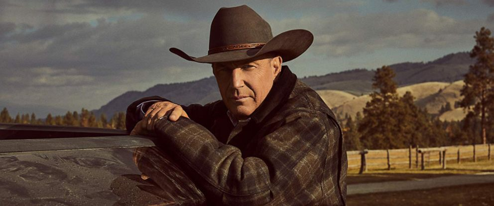 "PHOTO: Kevin Costner in a scene from ""Yellowstone."""