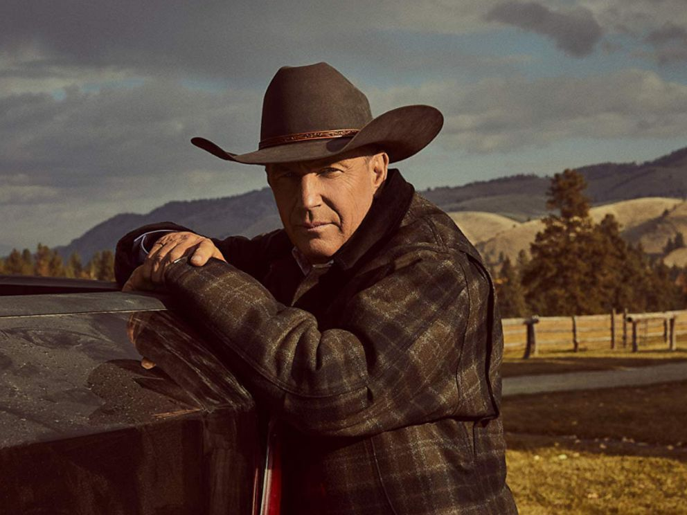 PHOTO: Kevin Costner in a scene from Yellowstone.