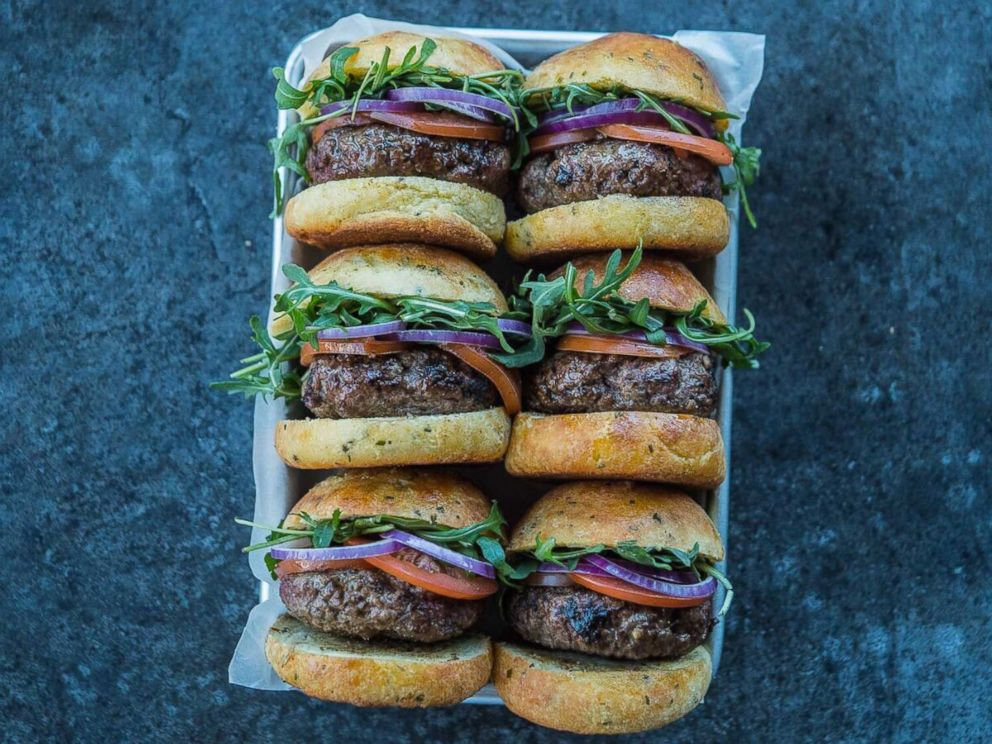 PHOTO: Keto sliders by Kevin Curry of Fit Men Cook.