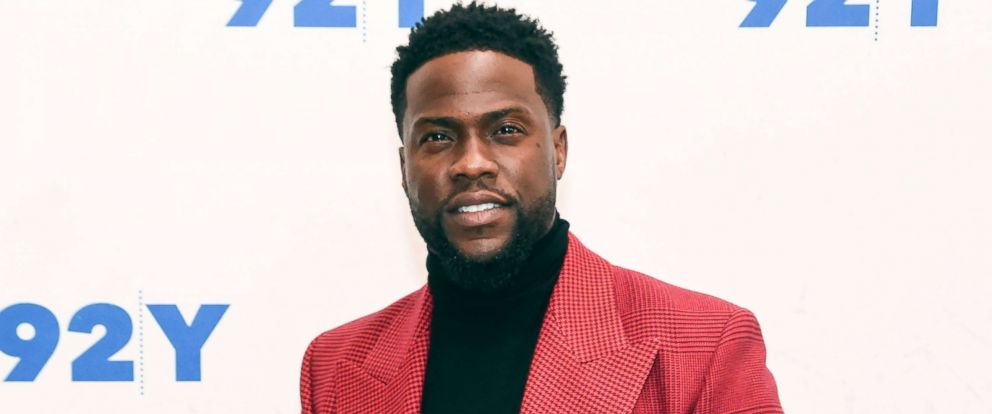 "PHOTO: Kevin Hart poses during ""The Upside"" Screening and Conversation with Kevin Hart at 92nd Street Y, Nov. 15, 2018, in New York City."