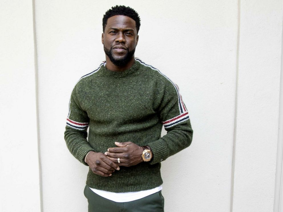 Kevin Hart promotes the movie The Upside in Hollywood, Oct. 30, 2018.