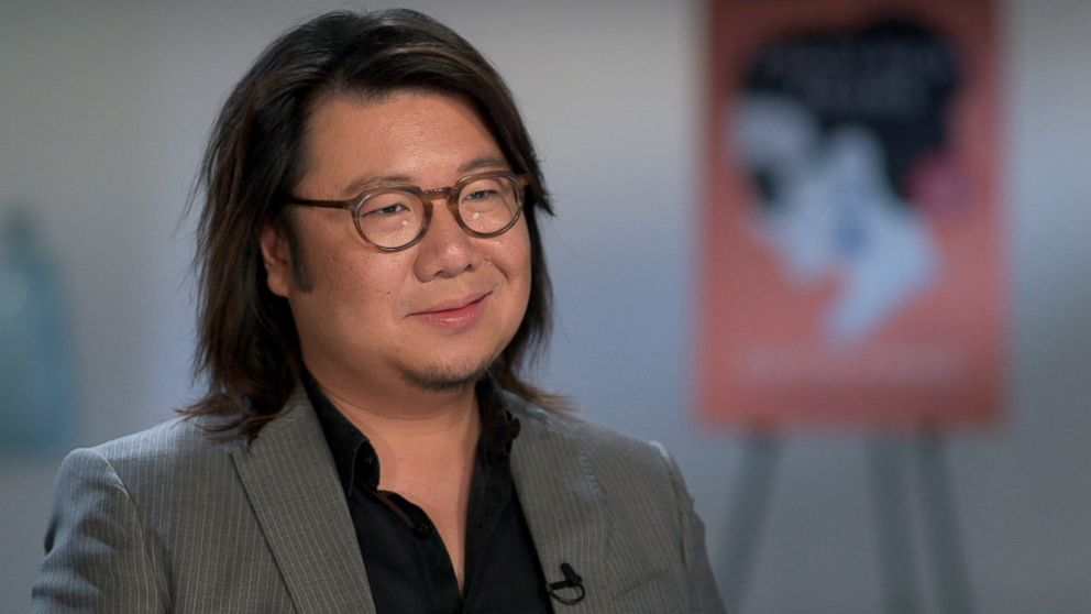 PHOTO: Crazy Rich Asians author Kevin Kwan discusses his book and the film adaptation.