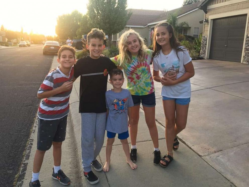 PHOTO: Logan Hultman, 10 and his buddies canvassed the area and called the Roseville Police Department after tracking down Glenneta Belford two hours after the woman was reported missing.
