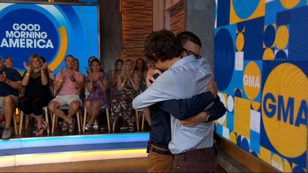 Man meets the kidney donor who saved his life: 'I hope to make you