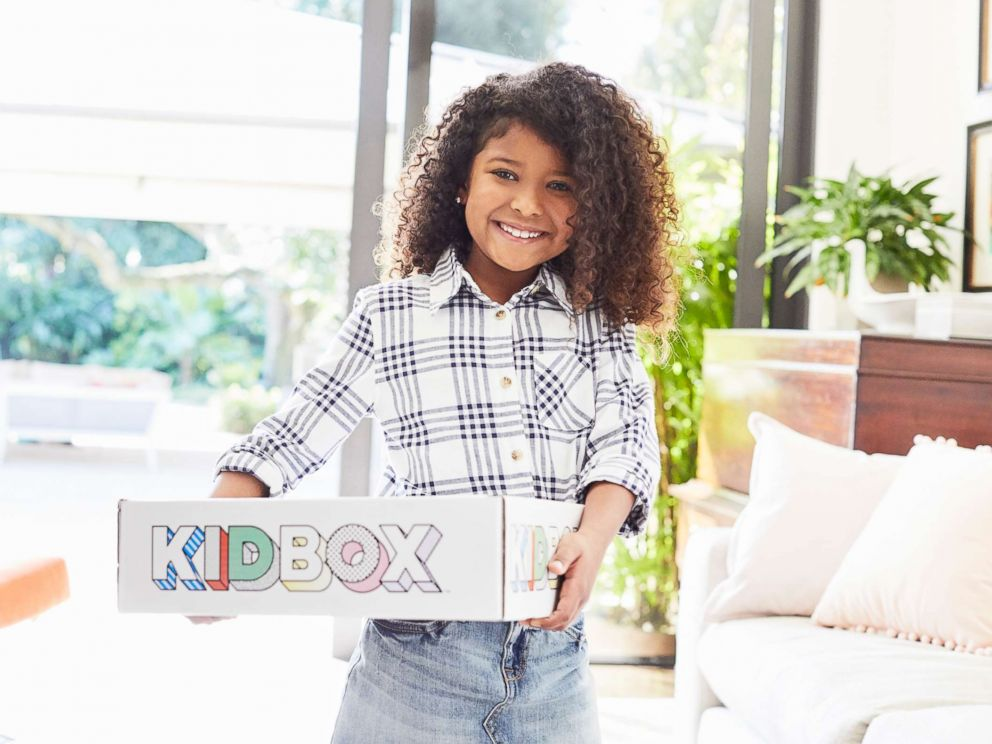 PHOTO: Kidbox is a subscription clothing box service for kids.
